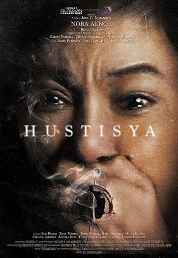 Hustisya Poster (credits to its owner/s)