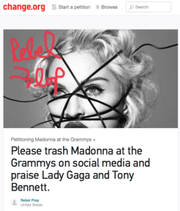 petition agains Madonna