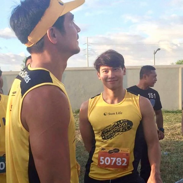 Enchong Dee and Piolo Pascual