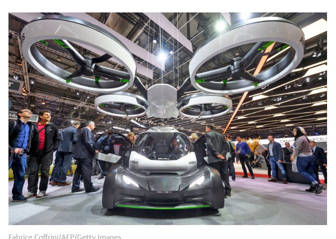 flying car from techcr